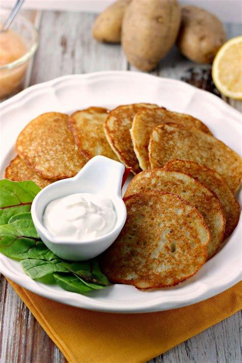 potato pancakes ideas  pinterest leftover