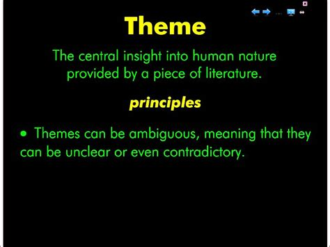 Literary Theme Part 1 Definition  Youtube