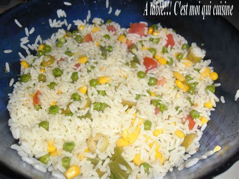riz cuisine salade de riz a table cest moi qui cuisine pictures