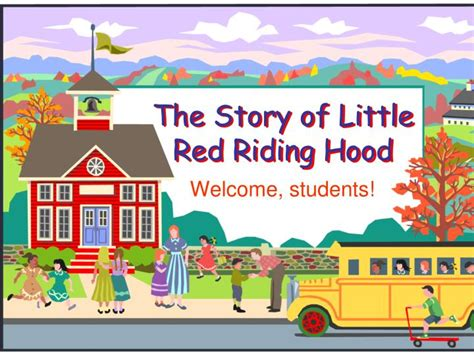 The Story Of Little Red Riding Hood Powerpoint