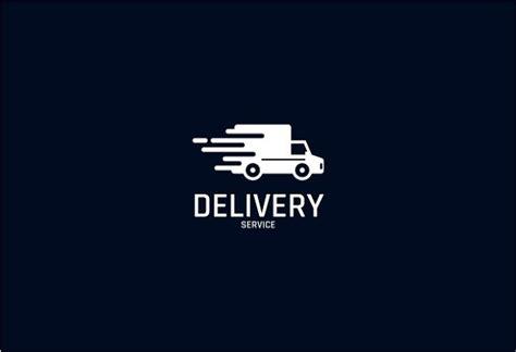 delivery service logos editable psd ai vector eps