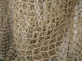 home interior wall hangings authentic used fishing net 12 39 x12 39 fish netting heavy