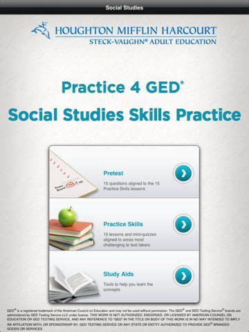 practice  ged social studies  images reading