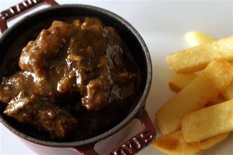 cuisiner poitrine de veau carbonade flamande ou carbonnade flamande un ragoût à