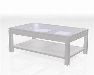 Dessus De Table En Verre : table basse dessus verre ~ Teatrodelosmanantiales.com Idées de Décoration