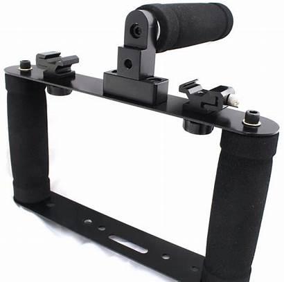 Suporte Microfone Celular Camera Tripe Led Canon
