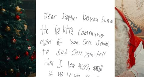 In Heartbreaking Letter To Santa, Young Boy Asks If God ...