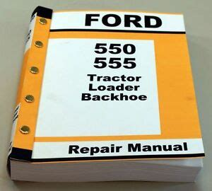 ford   tractor loader backhoe service repair manual