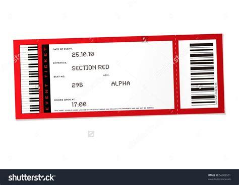 Concert Ticket Template Blank Concert Ticket Template Mughals