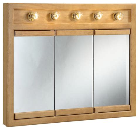 medicine cabinet with lights oak medicine cabinet with mirror and lights roselawnlutheran