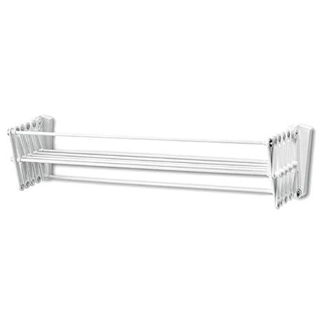 accordion drying rack wall mount polder wall mount 24 inch accordion clothes dryer white