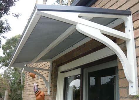 metal awning metals  front windows  pinterest
