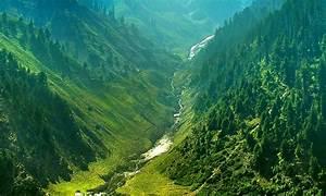 Rivers: Ravine Green Valley Kaghan Beautiful Naran Grass ...