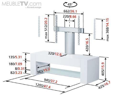 meuble hauteur