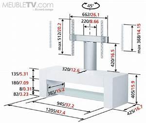 Meuble Tv En Hauteur : q6220 noir laqu de vogel 39 s un meuble tv design et ~ Teatrodelosmanantiales.com Idées de Décoration