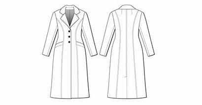 Rumana Coat London Pattern Sleeve Consider Adding