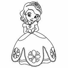 Coloring Pages For Little Girls – Art Valla