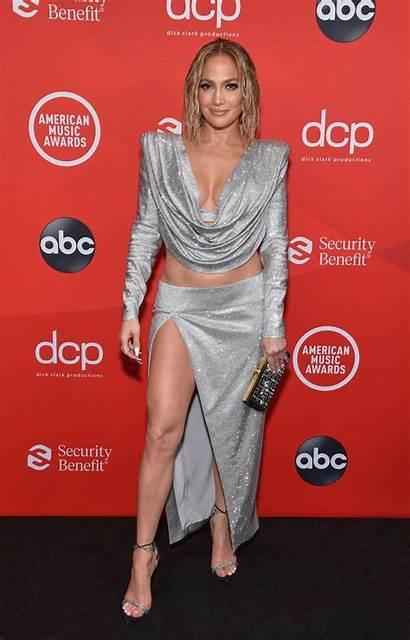 Lopez Jennifer Awards American Angeles Los Attends