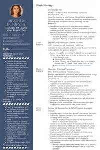 Ux Manager Resume by Researcher Resume Sles Visualcv Resume Sles Database