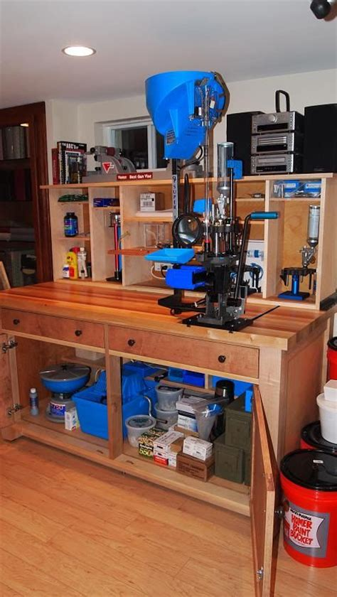reloading bench woodworking projects plans