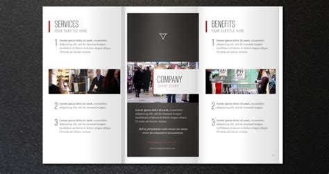 Free 4 Fold Brochure Template Best Sles Templates Corporate Tri Fold Brochure Template 2
