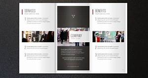 corporate tri fold brochure template 2 With two fold brochure templates free download