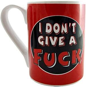 12 oz travel coffee mug amazon com i don 39 t give a fl mug 14oz health