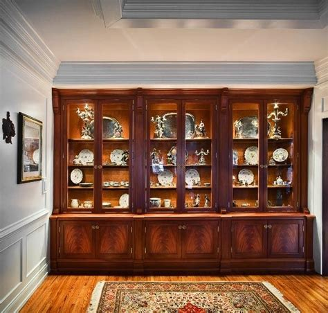 Base Cabinet Height Kitchen by Custom Made Traditional China Cabinet By Cabinetmaker