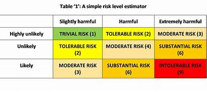 Risk Personal Matrices Matrix Risks Control Options