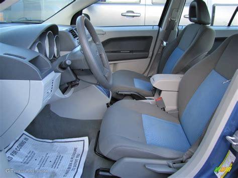 2007 dodge caliber interior pastel slate gray blue interior 2007 dodge caliber sxt