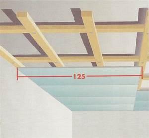 Abstand Lattung Gipskarton Dachschräge : decken verkleiden auf die unterkonstruktion kommt es an bauanleitung zum selberbauen 1 2 ~ Orissabook.com Haus und Dekorationen