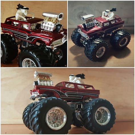 wheels monster jam truck diary of a customizer my custom hotwheels diecast cars