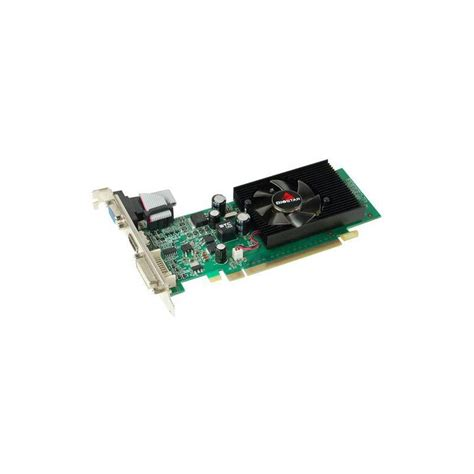 carte graphique pc bureau carte graphique biostar geforce 210 ddr3 1go