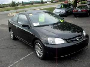 Honda Civic 2002 : 2002 honda civic ex 2 door coupe 1 7 v tec 4cyl 5 speed black 5 995 youtube ~ Dallasstarsshop.com Idées de Décoration