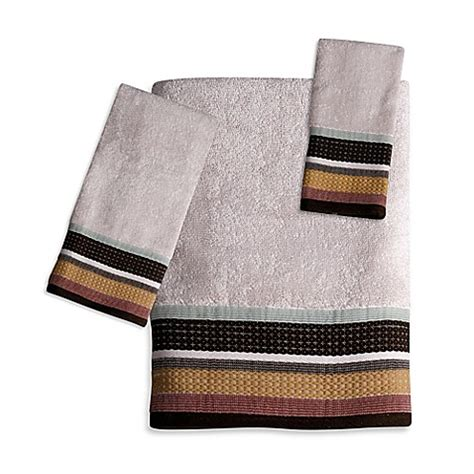 jessen stripe bath towel collection bed bath