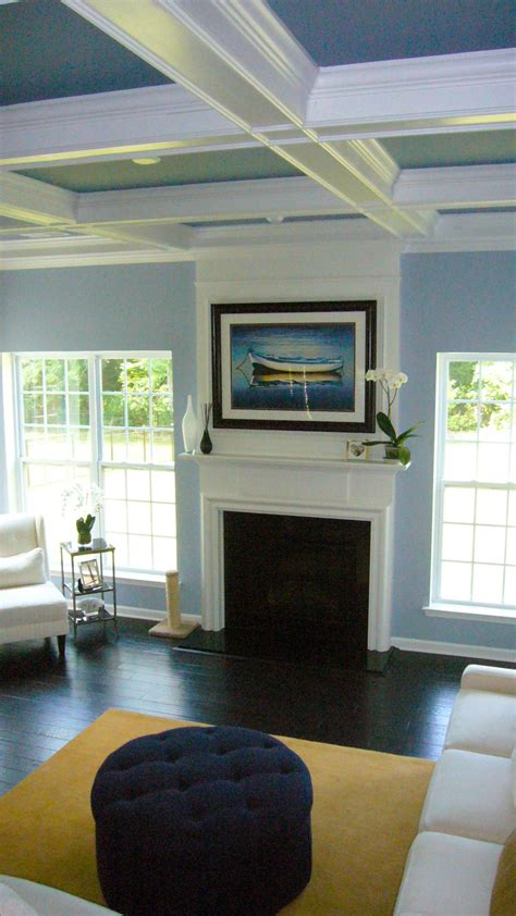beautiful tri color coffered ceiling this looks