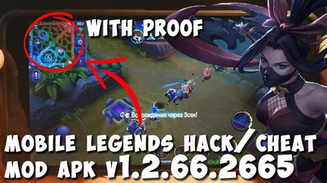 Mobile Legends Hack 2018. Cheat Mod Apk V1.2.66.2665 Latest