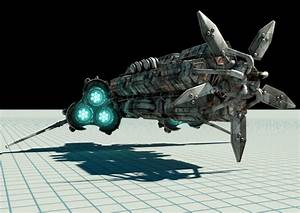 3d models > vehicle > spacecraft > science fiction ...
