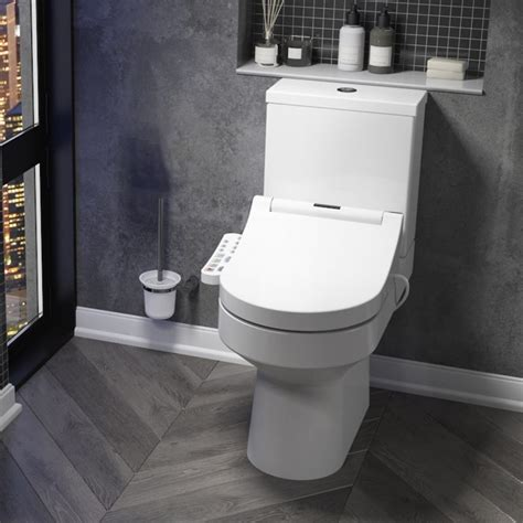 toilet with built in bidet and dryer smart toilet with adjustable bidet wash function heated