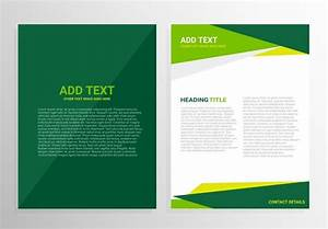 pamphlet design template