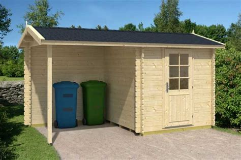 Gartenhaus Mit Unterstand gartenhaus mit unterstand gartenhaus blockhaus ger tehaus holz