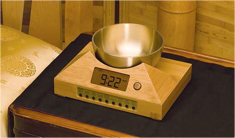 zen clock alarm timepiece gong way timer digital clocks wake evolving bowl tibetan meditation bell sound chimes awaken peace ultimate