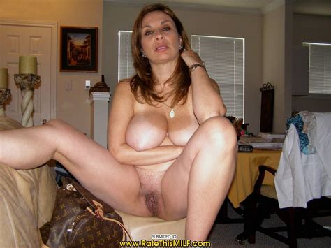 Hairy Mature Amateur Curvy Milf With Big Naturals Wearing