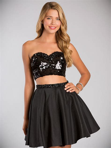 Cute Simple Black Dress And Make Your Evening Special - 24 ...