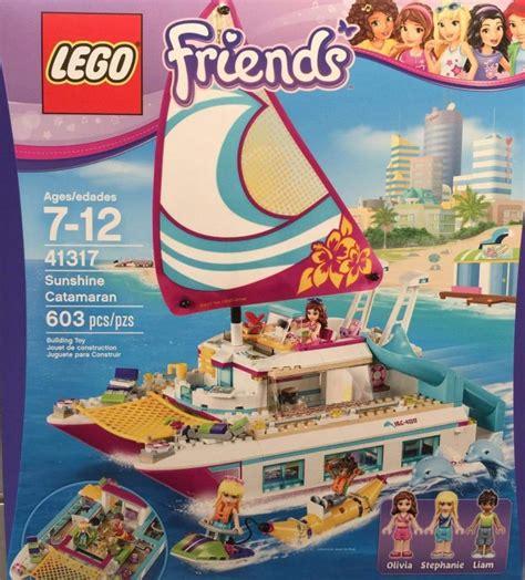 Catamaran Lego Friends by Lego 41317 Sunshine Catamaran I Brick City