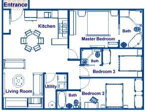 square foot house plans  sq ft  bedroom