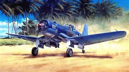Corsair Vought F4u Aircraft Background F4 Fhd