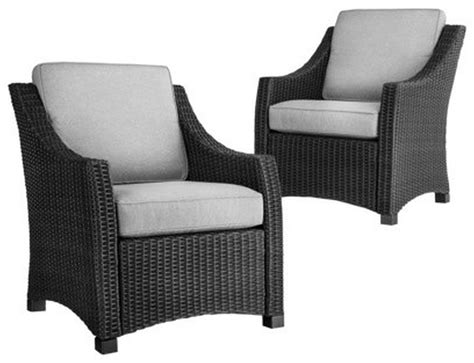design ideas for black wicker outdoor furnitur 20689
