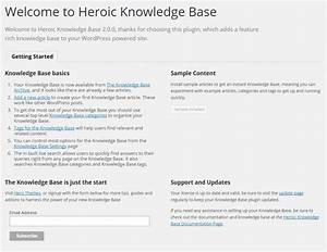 heroic knowledge base plugin documentation herothemes With knowledge base document template