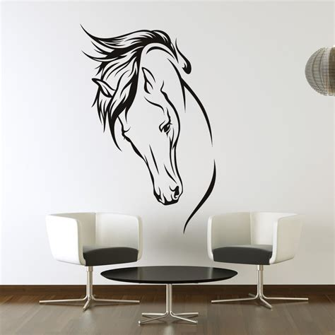 Ebay Wall Decor Uk by Chevaux Wall Stickers Muraux Autocollant
